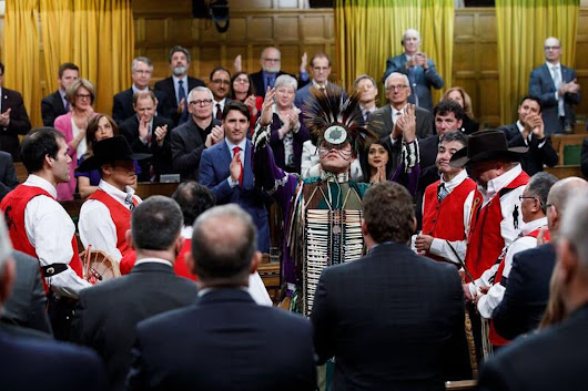 Justin Trudeau apologizes for the brutal hanging of tribal chiefs 150 years ago - The Washington Post