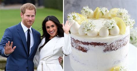What royal wedding cake are Prince Harry and Meghan Markle