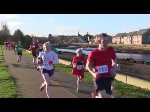 Nairn Turkey Trot 2017 - video