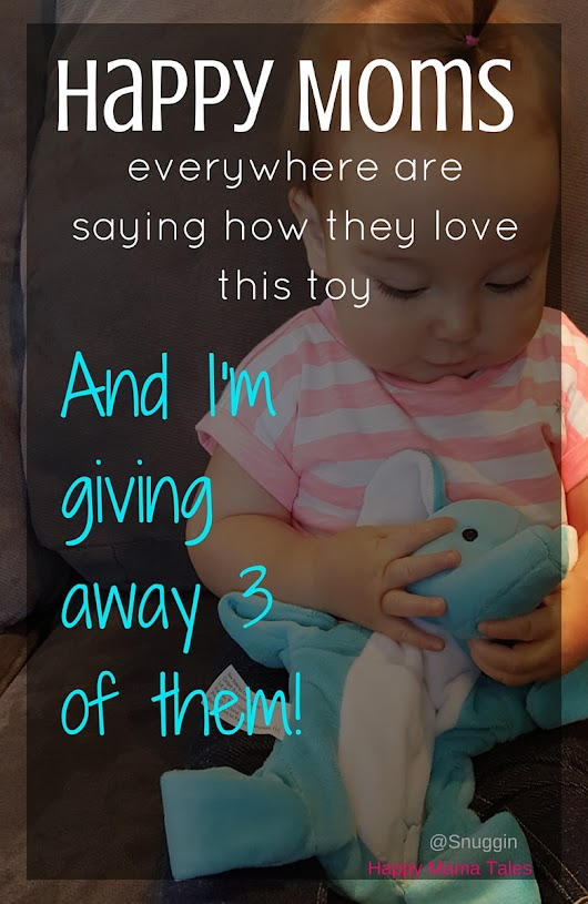 Happy Moms love this toy {& I'm giving away three of them}