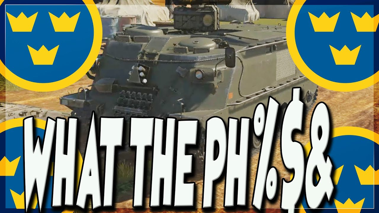 All The New Swedish Ground Vehicles   Absolute Meme Tech Tree (War Thunder 1.97)