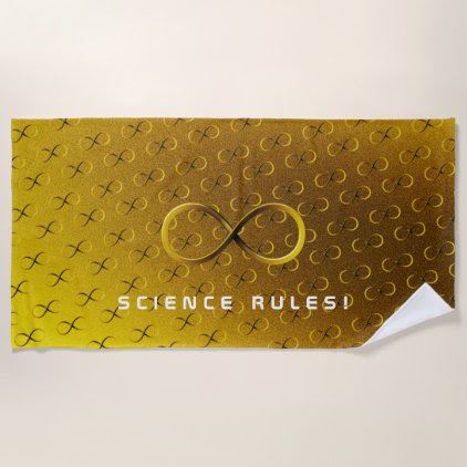 Science Rules | Infinity Geek Gifts Beach Towel