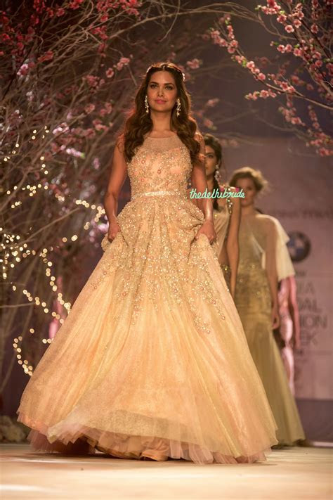 Jyotsna Tiwari at India Bridal Fashion Week 2014