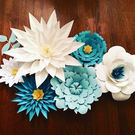 Giant/ Large Paper flowers for back drop customizable for