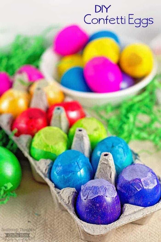 How to Make Confetti Eggs - Scattered Thoughts of a Crafty Mom by Jamie Sanders