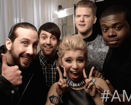 What Happens When You Give AMAs Artists A GIF Booth?