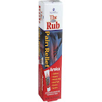 The Arnica Rub Pain Relief Arnica Cream for Sore Muscles & Injury Treatment - 4 oz
