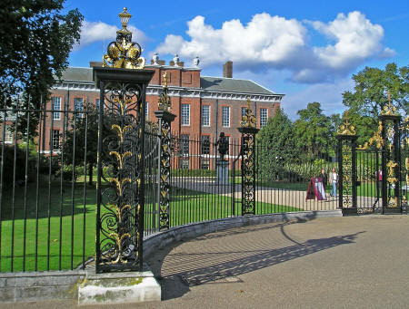 Kensington Gardens in London England - A City Jewel