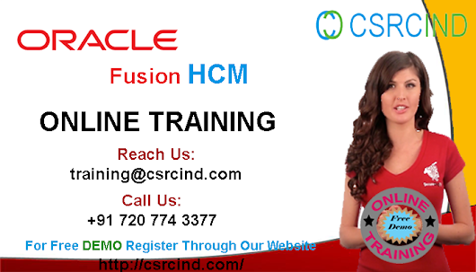CSRCIND — Online Training on Oracle Fusion-HCM | Learn...