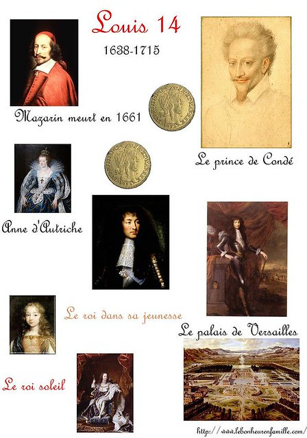 XXXXXXXXXXfiche sur Louis 14, Mazarin et le prince de Condé