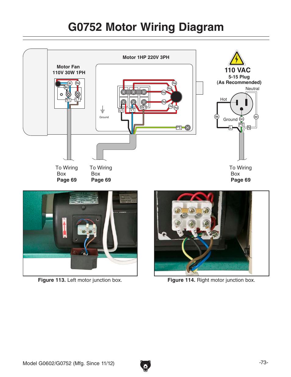 Wiring Manual Pdf  110v 220v Motor Wiring Diagram