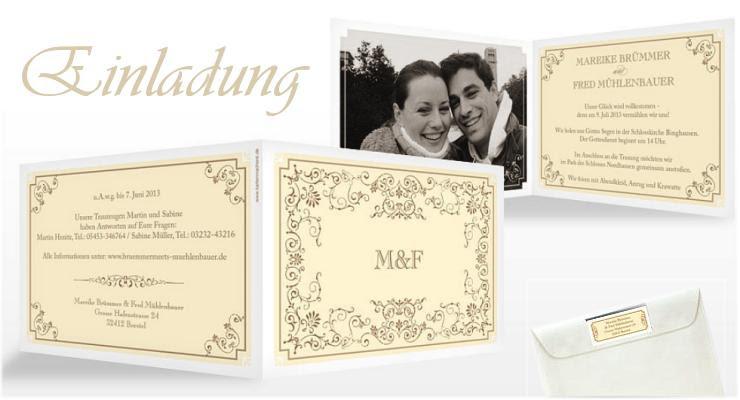 Hochzeit Blog Einladungen Zur Diamantenen Hochzeit