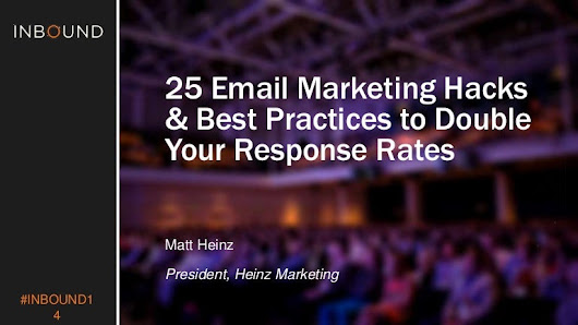 50+ email marketing hacks & best practices to double your response ra…