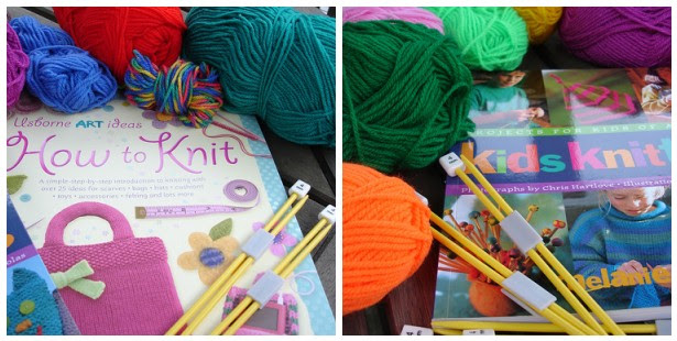 K is for Knit