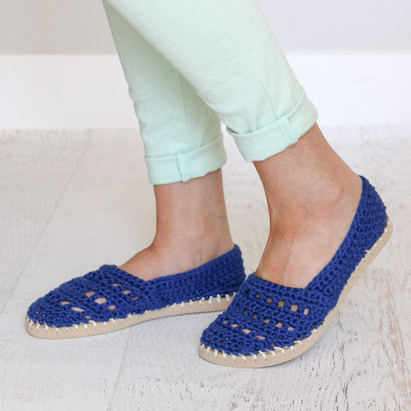 Crochet Kit - SeaSide Slip-Ons