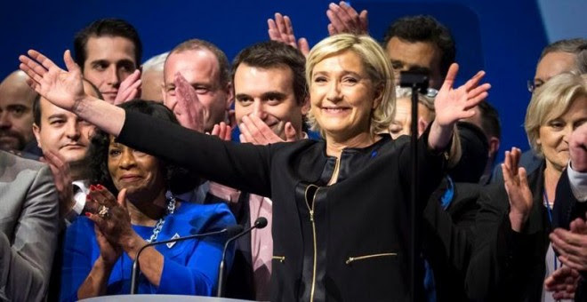 """Le Pen arranca su campaña con la intención de emular a Trump y el """"Brexit"""". /EFE"""