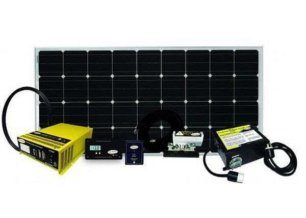 Go Power! Complete Solar and Inverter System