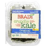 Brad's Plant Based Crunchy Kale - Original - Case Of 12 - 2 Oz.