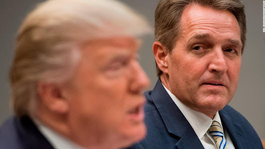 Flake's 20 most damning lines about Trump and the press - CNNPolitics