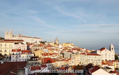 lisbon city view