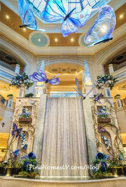Spring Has Sprung With An Art Installation At The Palazzo Las Vegas » Lifestyle Magazine Curating Travel, Food, Tech, Celebrities And Events