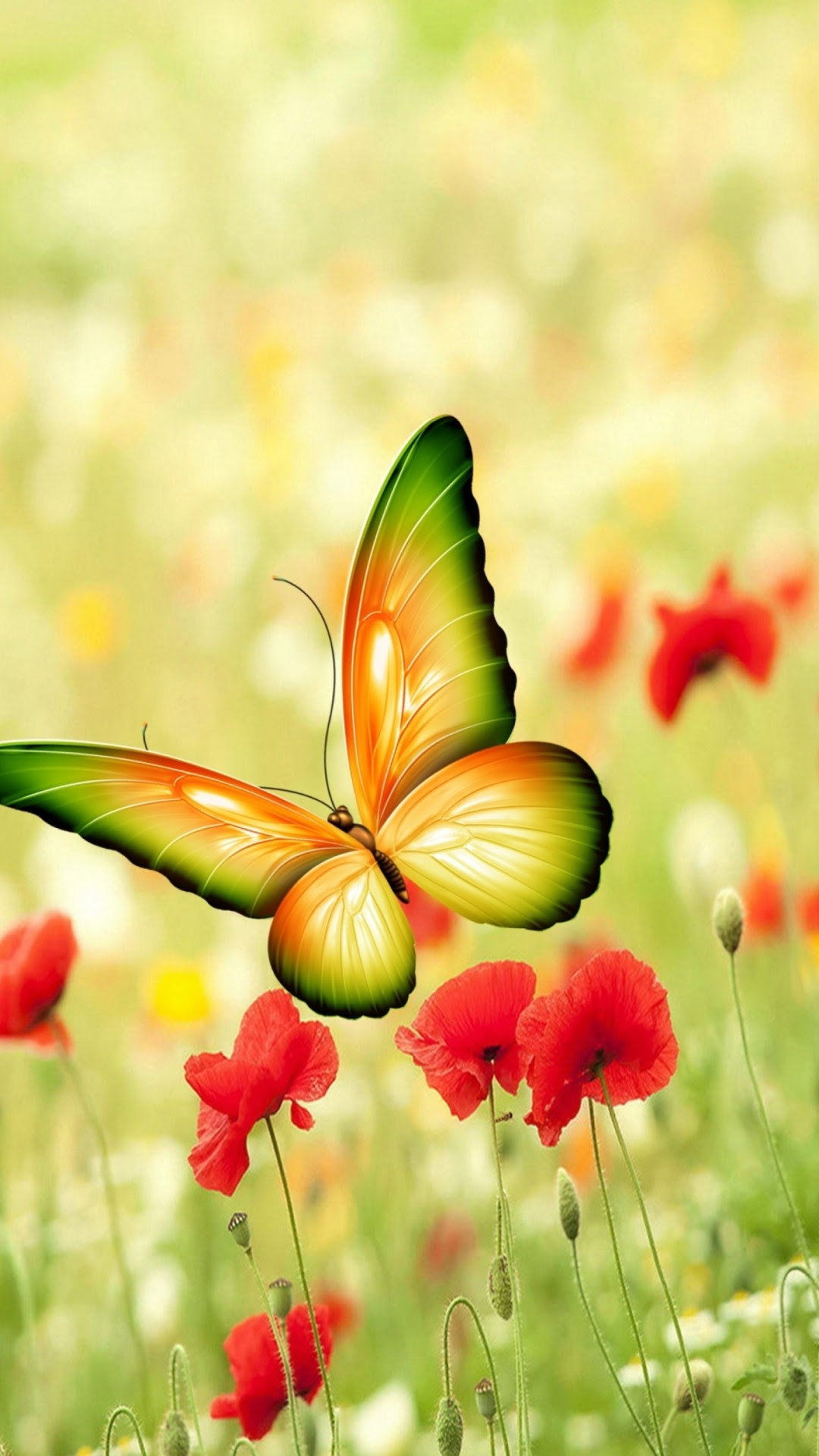 Pretty Butterfly Wallpaper (59+ images)
