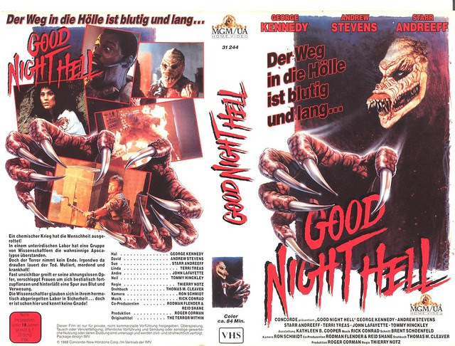 Good Night Hell (VHS Box Art)