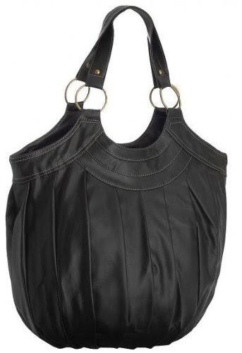 handtaschen marken billig eyecatchbags inca damen schultertasche handtasche schwarz. Black Bedroom Furniture Sets. Home Design Ideas