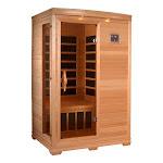 GDI HD Edition 2 Person Corner IR Carbon Sauna