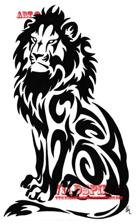 ideas  tribal lion tattoo  pinterest