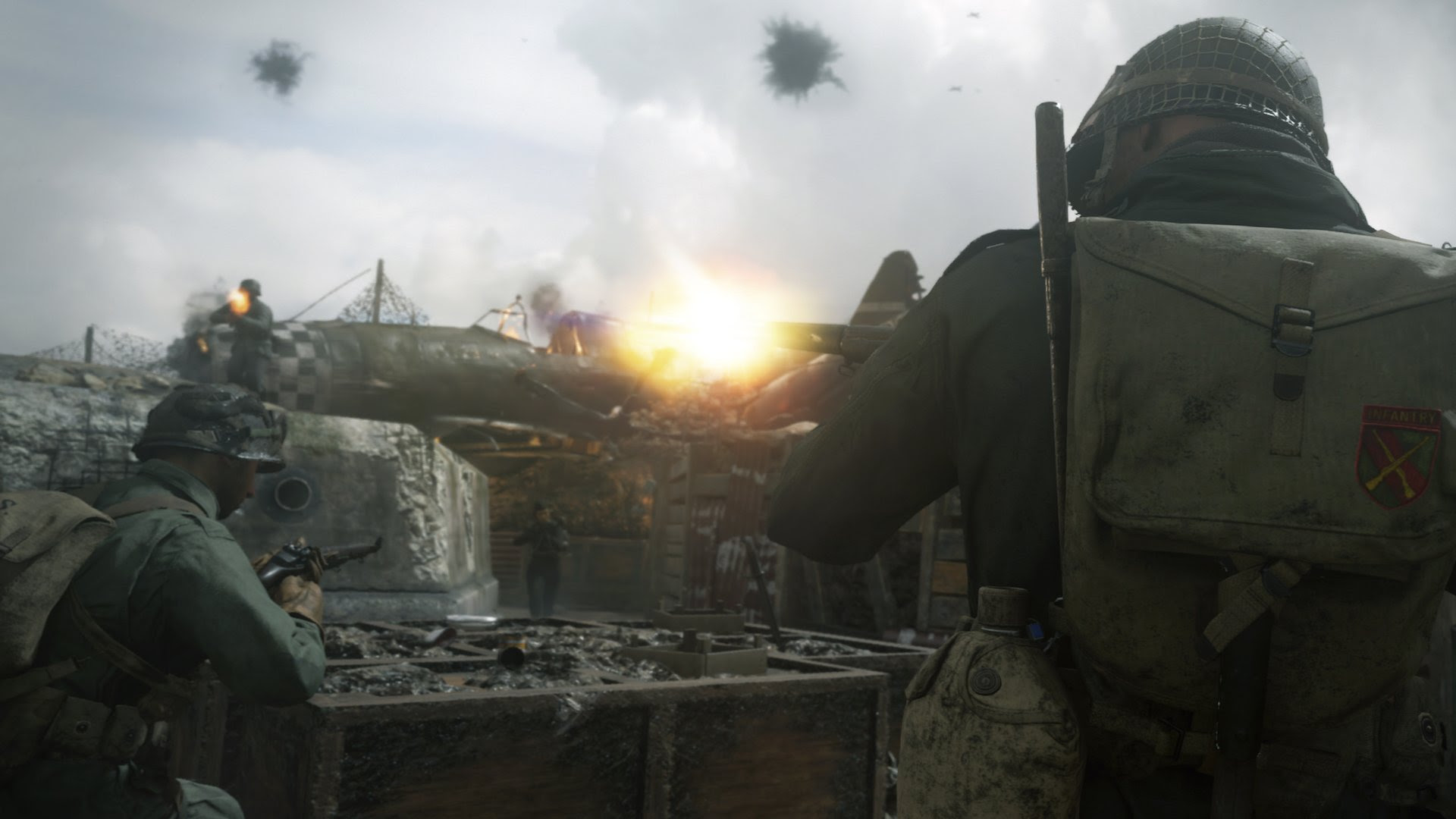 Call of Duty: WWII's multiplayer sheds all the sci-fi clutter to great effect screenshot