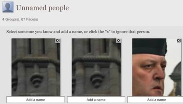 Picasa classifica estátuas como pessoas (Foto: Reprodução)