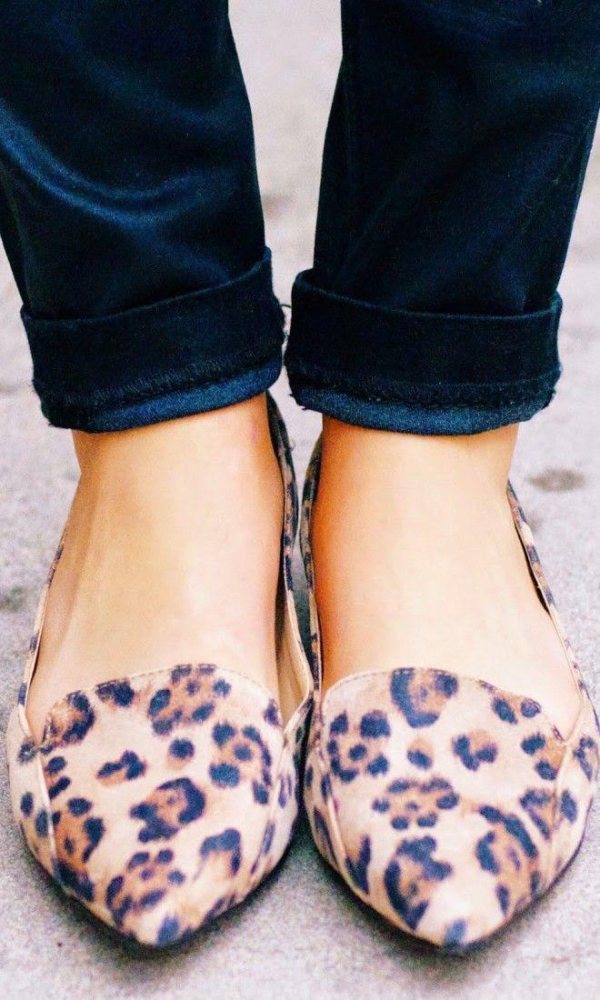 Cute Leopard Flats