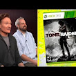 Conan O'Brien Plays and Reviews Tomb Raider on Clueless Gamer