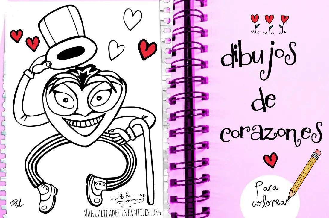 Dibujos De Corazones Para Colorear Actividades Para Ninos