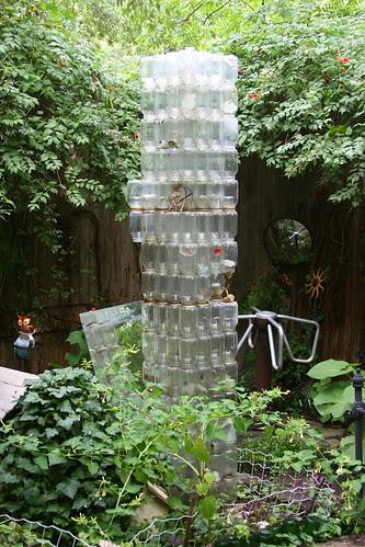 japanese garden bottle tower
