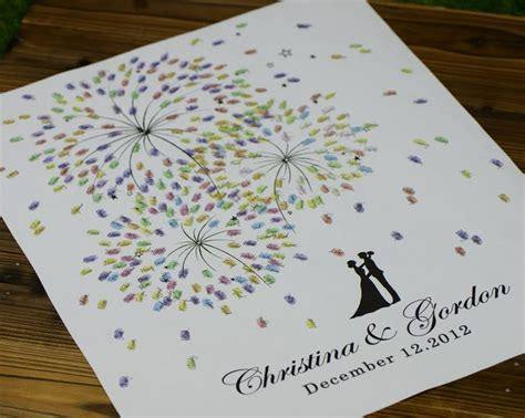 17 Best ideas about Wedding Fingerprint Tree on Pinterest