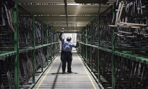 China's manufacturing industry faces competition - Global Times