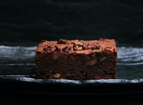Chocolate almond flour brownies