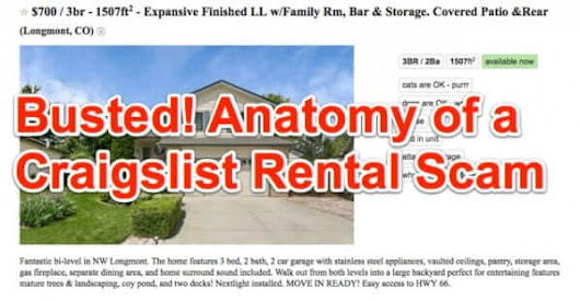 Anatomy of a Craigslist Rental Scam - How to Detect Rental Scams on Craigslist - The Internet Patrol