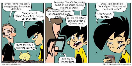 Penny Arcade - The Cylorg Menace