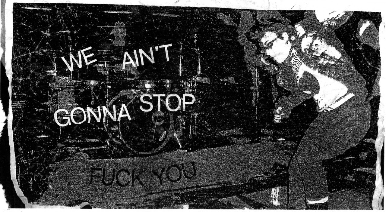 We Ain't Gonna Stop (Fuck You)