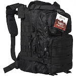 Military Tactical Large Army 3 Day Assault Molle Outdoor Backpack for Hiking - Black