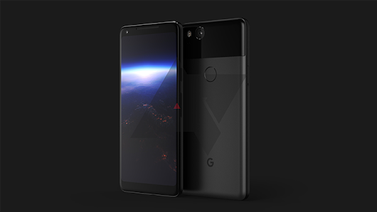 "Exclusive: This is the 2017 Google Pixel ""XL,"" with low-bezel AMOLED display and squeezable frame"