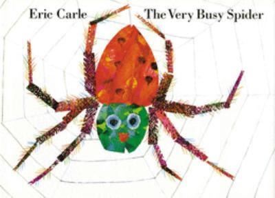 Cover Art for The very busy spider