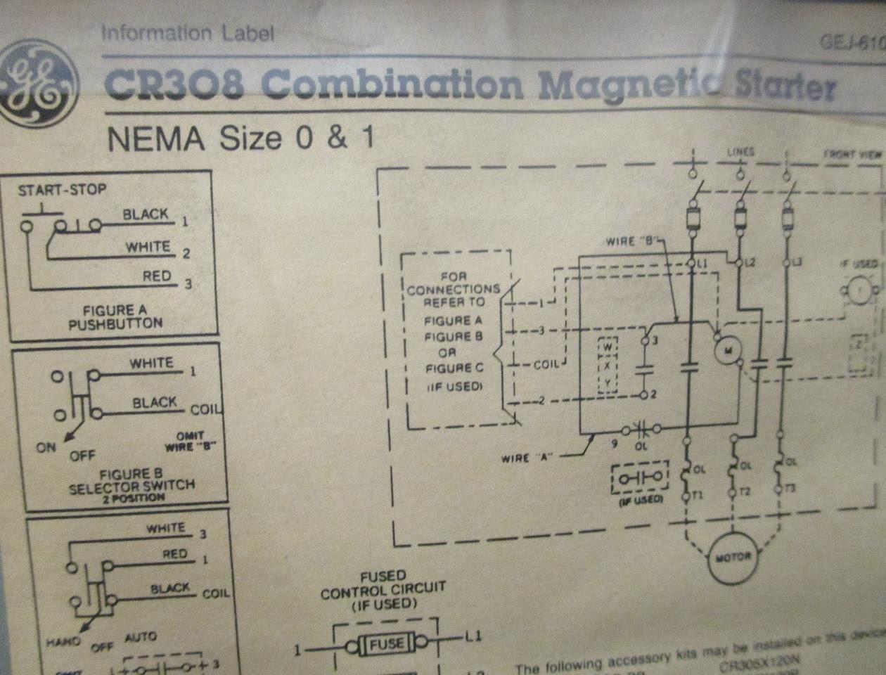 Air Compressor Starter Wiring Diagram