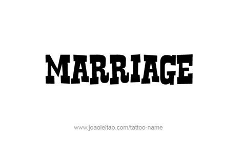 Marriage Name Tattoo Designs   Tattoos with Names