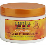 Cantu Shea Butter Coconut Curling Cream, for Natural Hair - 12 oz