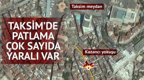 έκρηξη στην Κωνσταντινούπολη