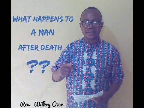 What Happens to a Man After Death {Case Study}